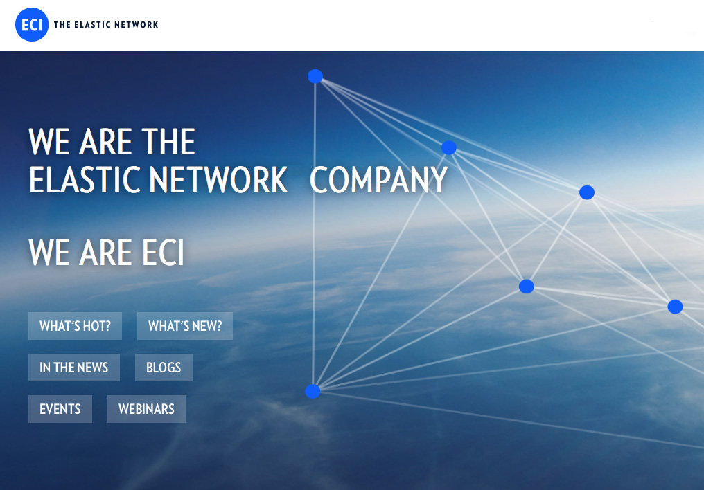 Image of ECI - We are the Elastic Network Company