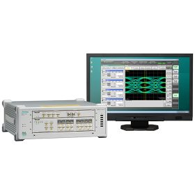 The 53 Gbaud analysis function added by the upgrade is included in the PAM4 signal analysis software option MP2110A-095.
