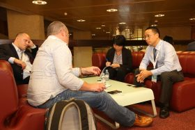 In an interview with Optical Connections at the Geneva conference, Jin (pictured right above) also promised new product launches at the forthcoming European Conference on Optical Communication (ECOC) in Rome, on 24-26 September.
